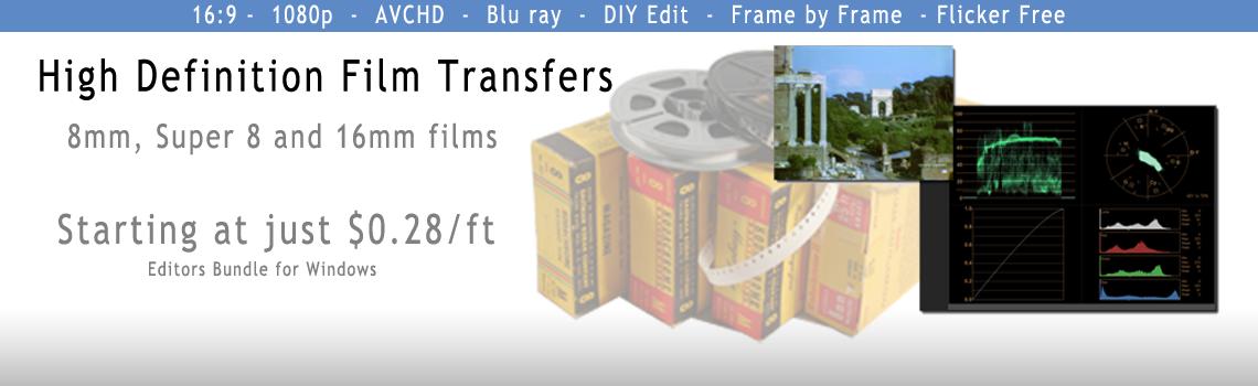 RHMG HD telecine Film transfer
