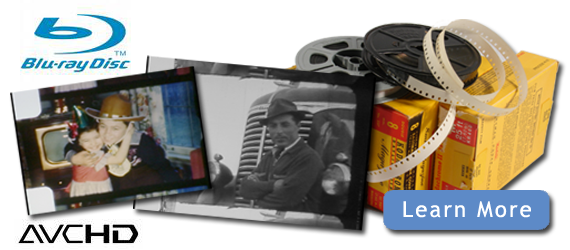 HD telecine film conversion banner